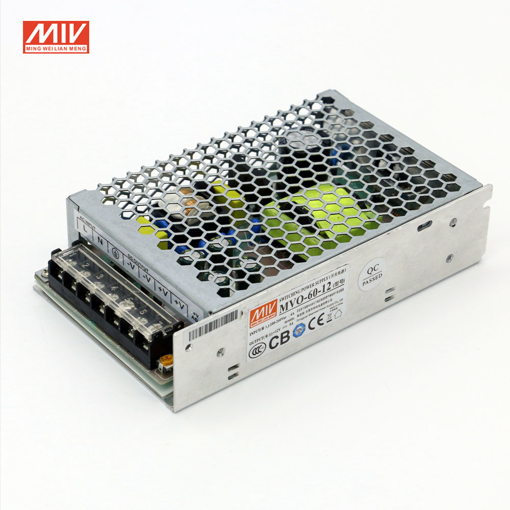 CB CE TUV Certification AC 100-240V to DC 12V 5A 60W Switch Power Supply for Led Strip new i to n3 cb 016