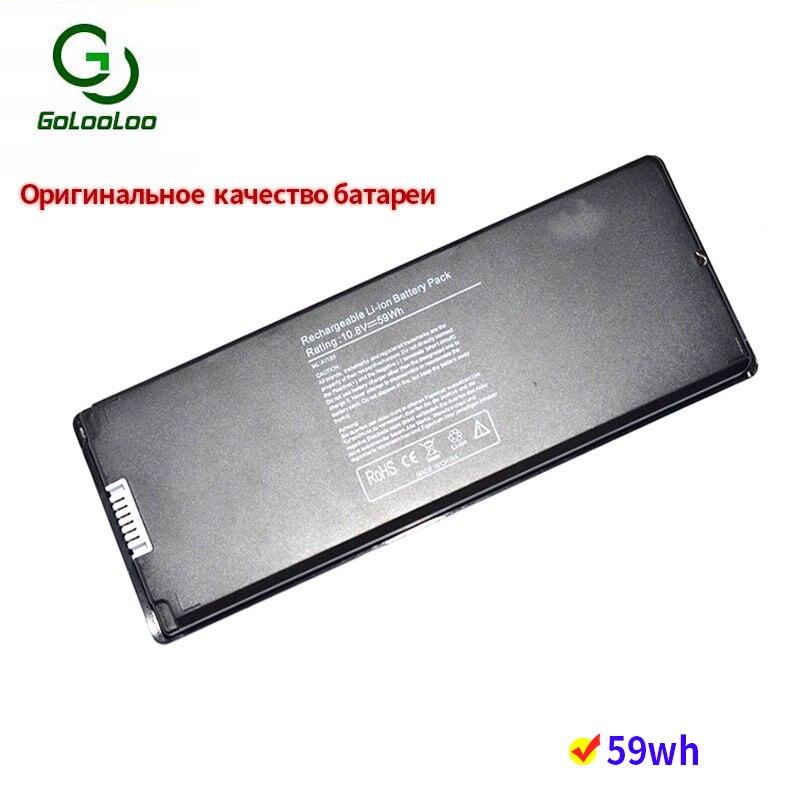 Golooloo 10 8v 59wh laptop battery for font b Apple b font font b MacBook b
