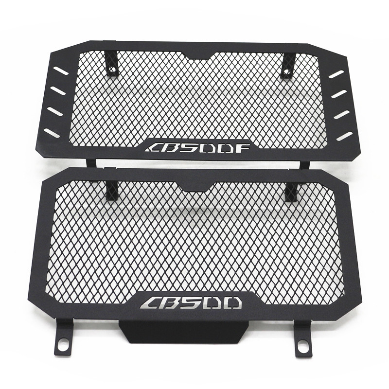 For <font><b>HONDA</b></font> <font><b>CB500X</b></font> CB500 X 2006-2008 CB500F 2016 2017 <font><b>2018</b></font> Radiator Grille Guard Cover Fuel Tank Protection Net 2016-<font><b>2018</b></font> image