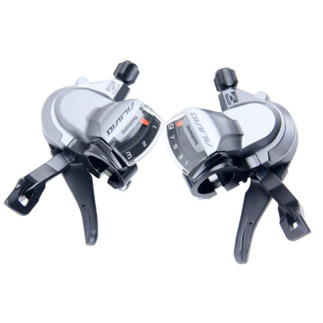 5d8dcf051c8 Shimano ALIVIO SL M4000 3x9S 9 27 Speed bike Shifter Lever Trigger mtb  mountain bicycle shifters Left & Right With Inner Cables