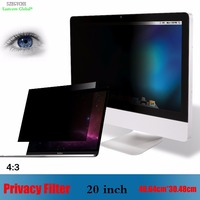 20 Inch Monitor Protective Screen Anti Glare Privacy Filter Laptop Notebook Screen Protector Film Computer 4