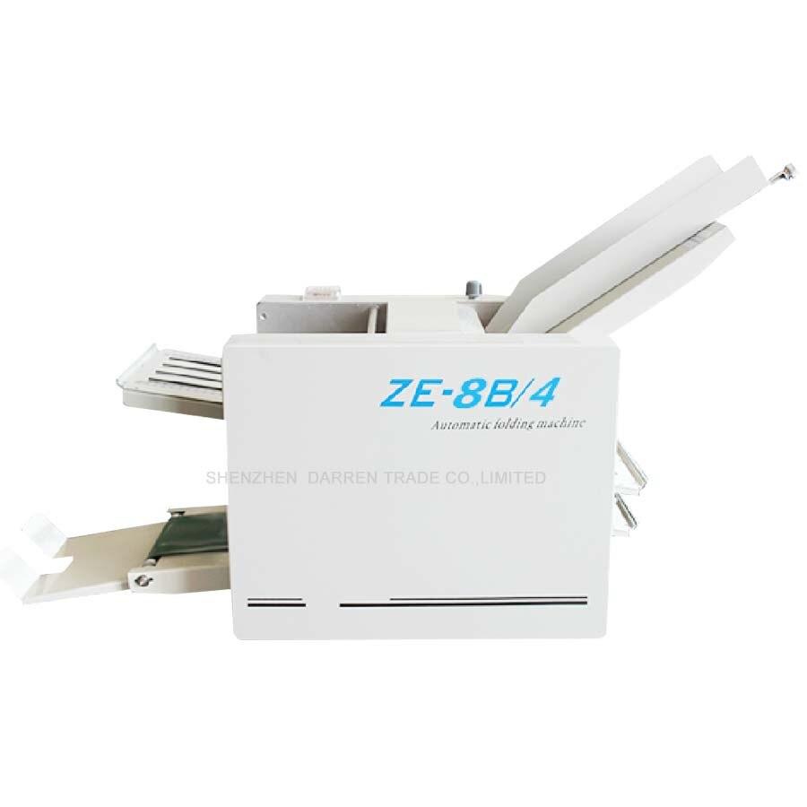 Machine à plier le papier automatique Max pour papier A3 + haute vitesse + 4 plateaux pliants ZE-8B/4
