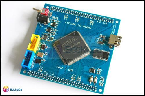 USB2.0 CY7C68013 FPGA + USB EP3C25 NIOS  Data Acquisition Development Board