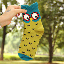 3D cartoon cotton socks