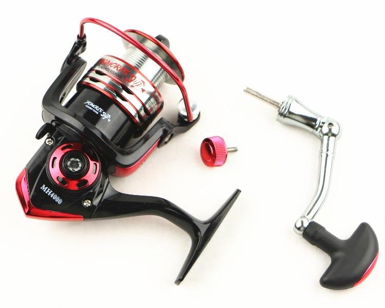 10 + 1BB 5.1: 1 Cilësi Spinning Peshkimi Reel Metal Spool Spel Reel - Peshkimi - Foto 3