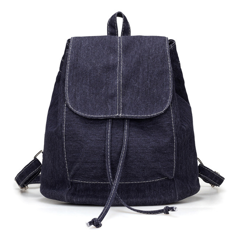 New Canvas Women Backpack Drawstring School Bags For Teenagers Girls Small Backpack Female RucksackNew Canvas Women Backpack Drawstring School Bags For Teenagers Girls Small Backpack Female Rucksack