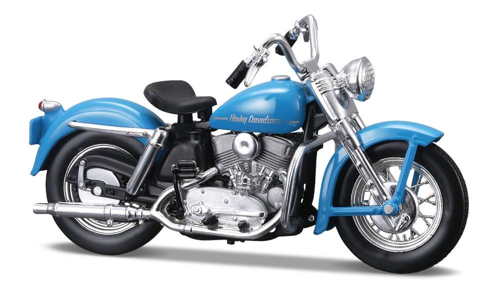 Maisto 1 18 Harley 1952 K Model MOTORCYCLE BIKE Model FREE SHIPPING