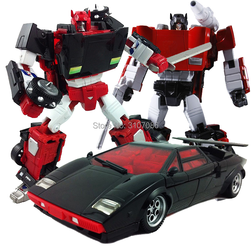 TKR Transformation MP12 MP 12 Sideswipe Red Black MP MasterPiece KO Action Figure Collection Robot Toys
