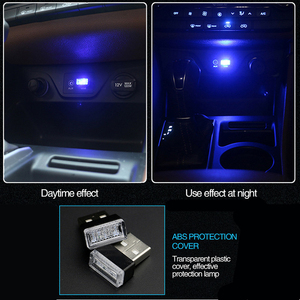 Image 5 - NEW STYLE Car USB LED Atmosphere Lamp for Toyota Corolla Avensis Yaris Rav4 Auris Hilux Prius Prado Camry 40 Celica Fortuner