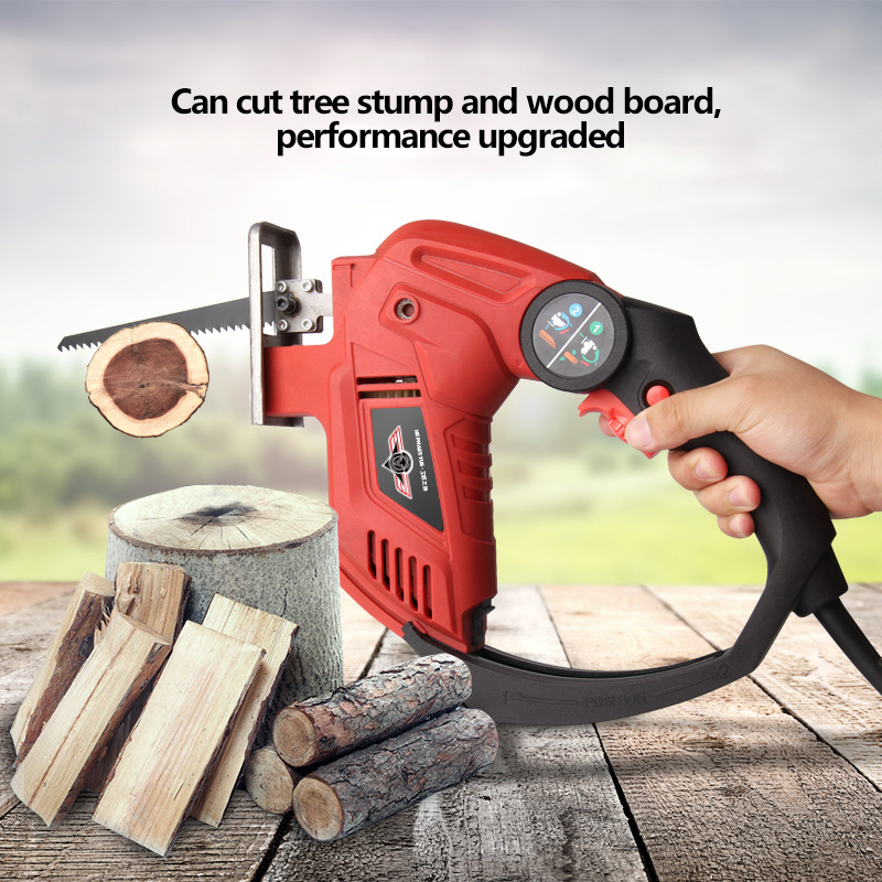 850W High-power Multifunction Saw COMBISAW Reciprocating saw Jig saw Upgraded Wood-cutting Expert