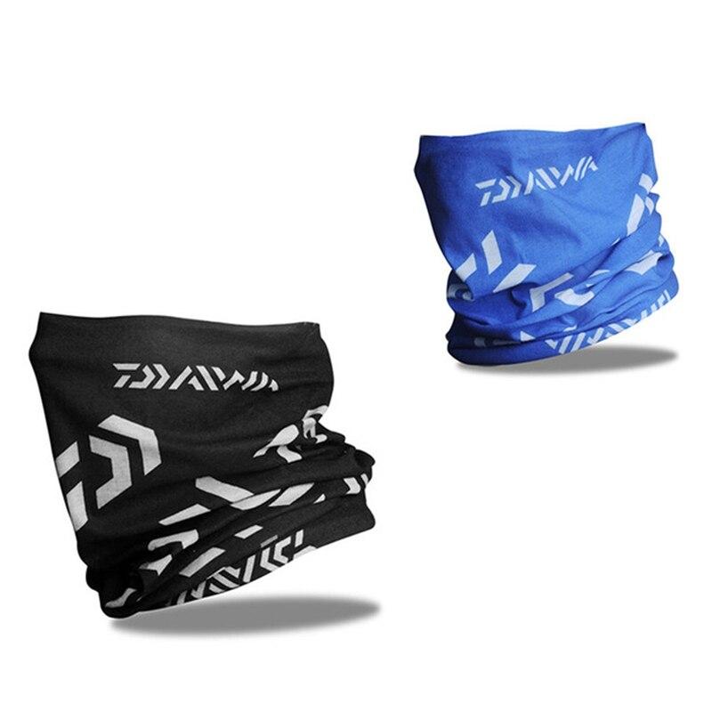 Daiwa NEW Fishing Face Mask for Man Woman Outdoor Sports Sun Protection Scarf Cycling Hiking Bandana Seamless Magic Scarf Masks