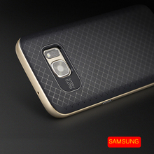 For Samsung Galaxy Note 7 S7 S7 edge Silicone Case Original IPAKY Phone Cases Bags for Men Women Hybrid Armor Protector Shell