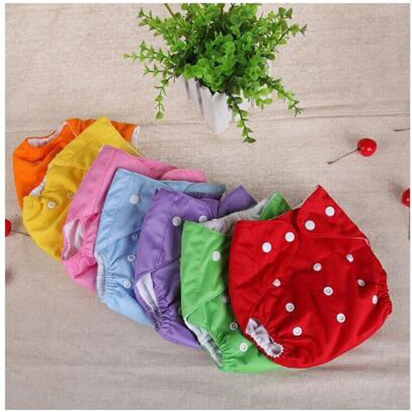 Training Pant Cloth Diaper Reusable-Nappies Washable Baby Winter Grid/cotton Fraldas