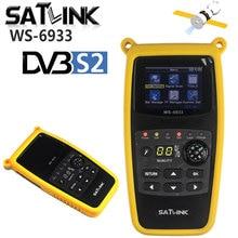Originele Satlink WS 6933 Digitale Satelliet Finder Zat Meter DVB S2 Satfinder 2.1 Inch Lcd scherm Fta C & Ku Ws 6933 WS6933 Dvb S2