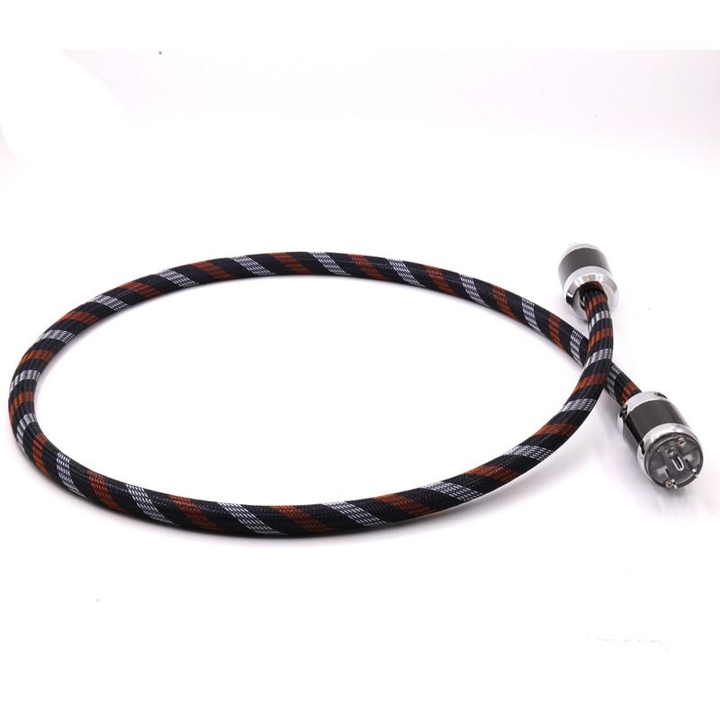 купить Audiocrast OCC US AC Audio Power Cable hifi US Power Cord cable онлайн