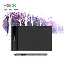 VEIKK S640 6×4 дюймов ультратонкий планшет OSU для рисования с ручкой без батареи (8192 уровней чувствительности к давлению)