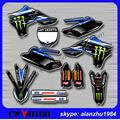 MOTOCROSS YZ450F 2010 2011 2012 2013 3M FULL TEAM GRAPHICS BACKGROUND DECALS STICKERS KITS OFF ROAD MX SM ENDURO MOTORCYCLE