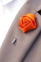 28 colors satin rose bud lapel flowers -------wedding party favor,women & men's boutonnieres