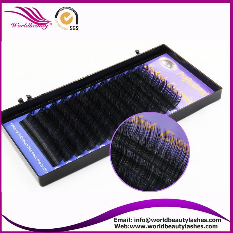 3 Trays/lot Natural Individual Fake/false Eyelash Extension 12 Rows/tray 0.1/0.15/0.2/0.25 Hand Made 8-13mm Soft Silk Eyelashes