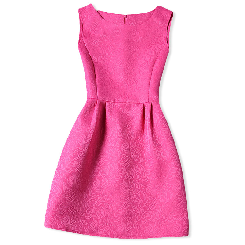 5b891d91ea Pink Girl Dress Summer 2018 Princess Formal Events Party Dance School  Graduation Dresses For Girls Teenagers