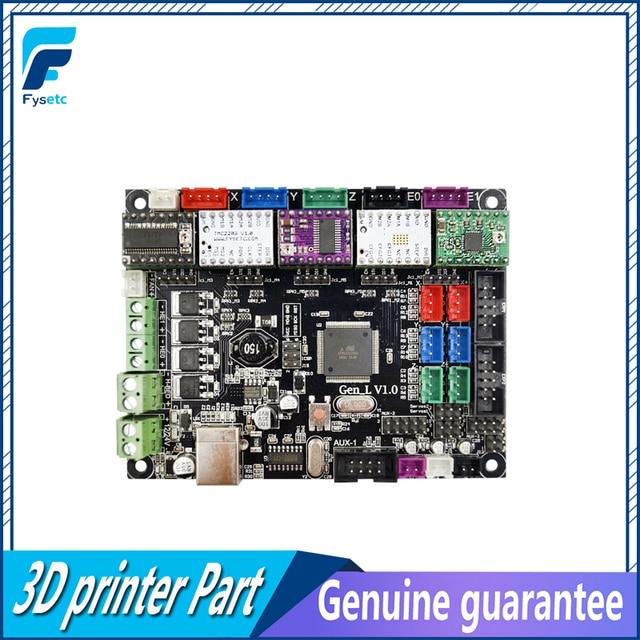 Gen-L V1.0 Integrated Mainboard Gen L V1.0 With A4988/DRV8825/TMC2100/TMC2130/LV8729 For Tarantula / Tornado 3D Printer