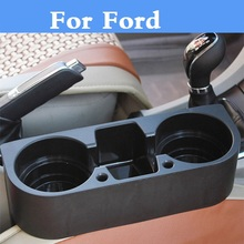Car Seat Multifunction Cup Drink Holder Box Organizer item For Ford Fiesta ST Five Hundred Flex Focus RS Focus ST Freestyle