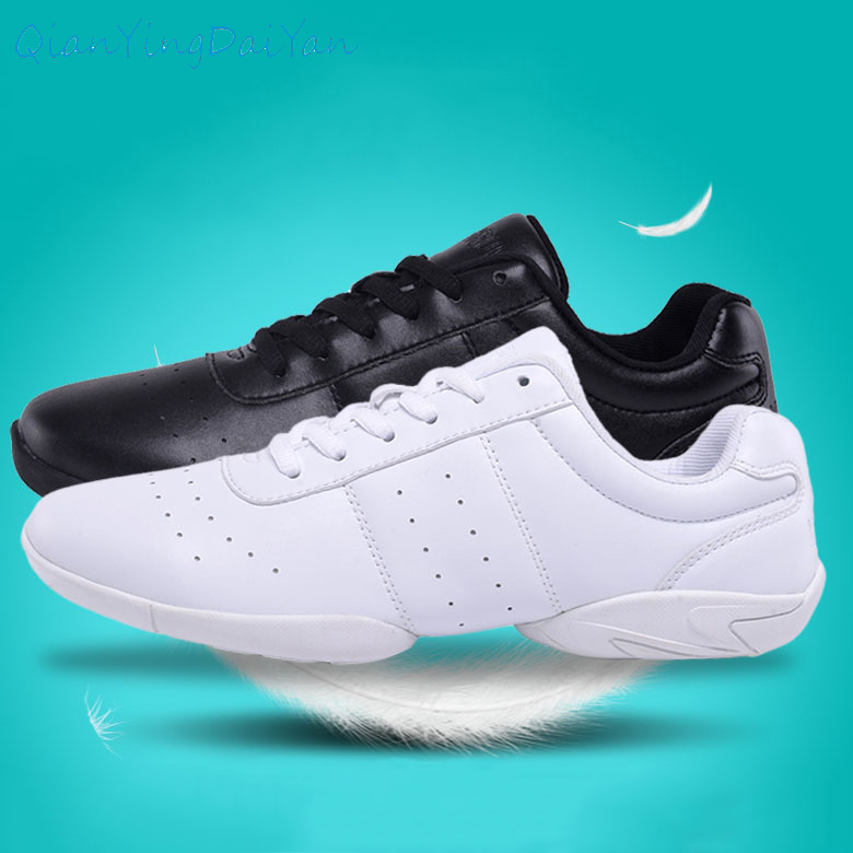 Show details for Kids' sneakers children's competitive aerobics shoes soft bottom fitness sports shoes Jazz / Modern square dance shoes