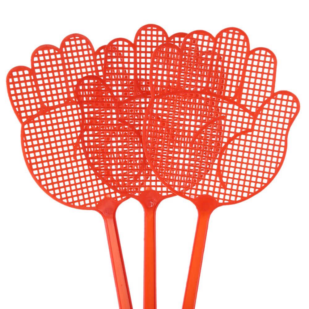 1 pc ฤดูร้อนพลาสติก hand Fly ยุง Swatter Bug Zapper แมลง Killer Home Zappers Bug Pest Control สีสุ่ม
