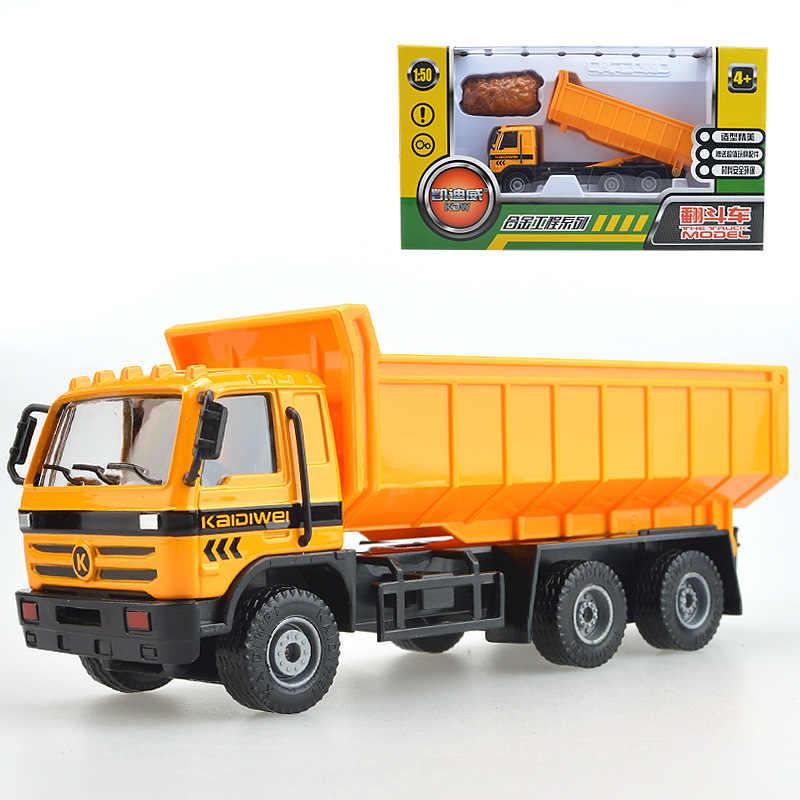 Высокая имитация сплава инженерного автомобиля, 1: 50 масштаб модель грузовика из сплава, экскаватор, вилочный погрузчик, транспортный автомобиль, бесплатная доставка