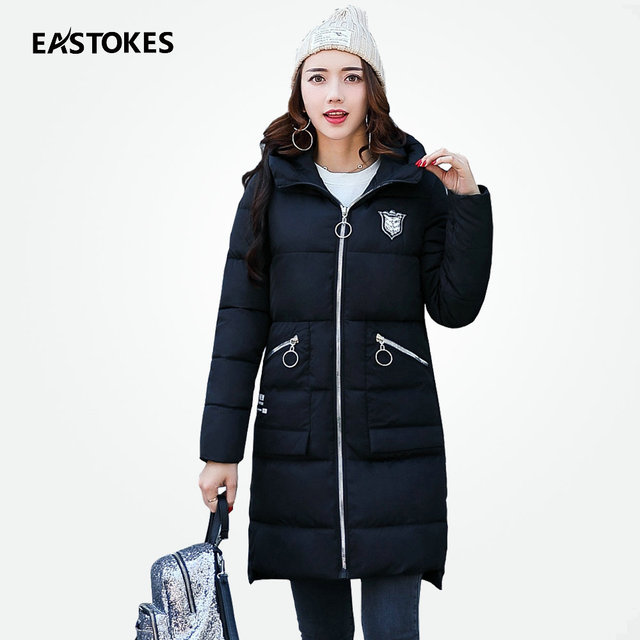 Women Winter Parkas With Zipper Pockets Ladies Quilted Jackets ... : quilted ladies coat - Adamdwight.com