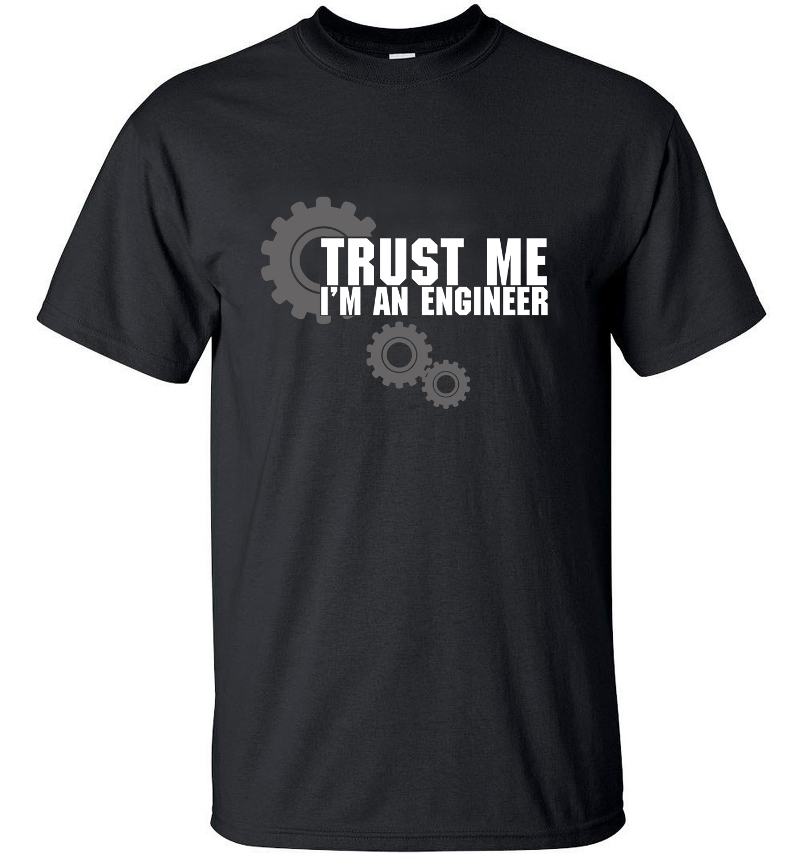 2019 TRUST ME HUMOR I AM AN ENGINEER streetwear cotton Man   T  -  Shirt   men   t     shirts   tops tees top brand slim clothing mma crossfit