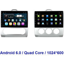 1024*600 Android 6.0 Quad Core Double 2 din CAR DVD GPS Navi For Ford Focus 2 2005 2006 2007 2008 2009 2010 2011 Radio WIFI