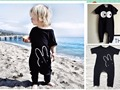 2016 SUMMER baby rompers	 bobo choses rabbit carton baby  girls clothes vetement enfant gracon fille bebe beauloves zapatos bebe