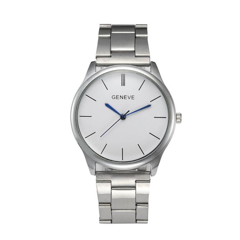 New Luxury Men Watch Roman Numbers Stainless Steel Quartz Wrist Watch Male Clock Mens Watches Relogio Masculino 2018 mce top brand mens watches automatic men watch luxury stainless steel wristwatches male clock montre with box 335