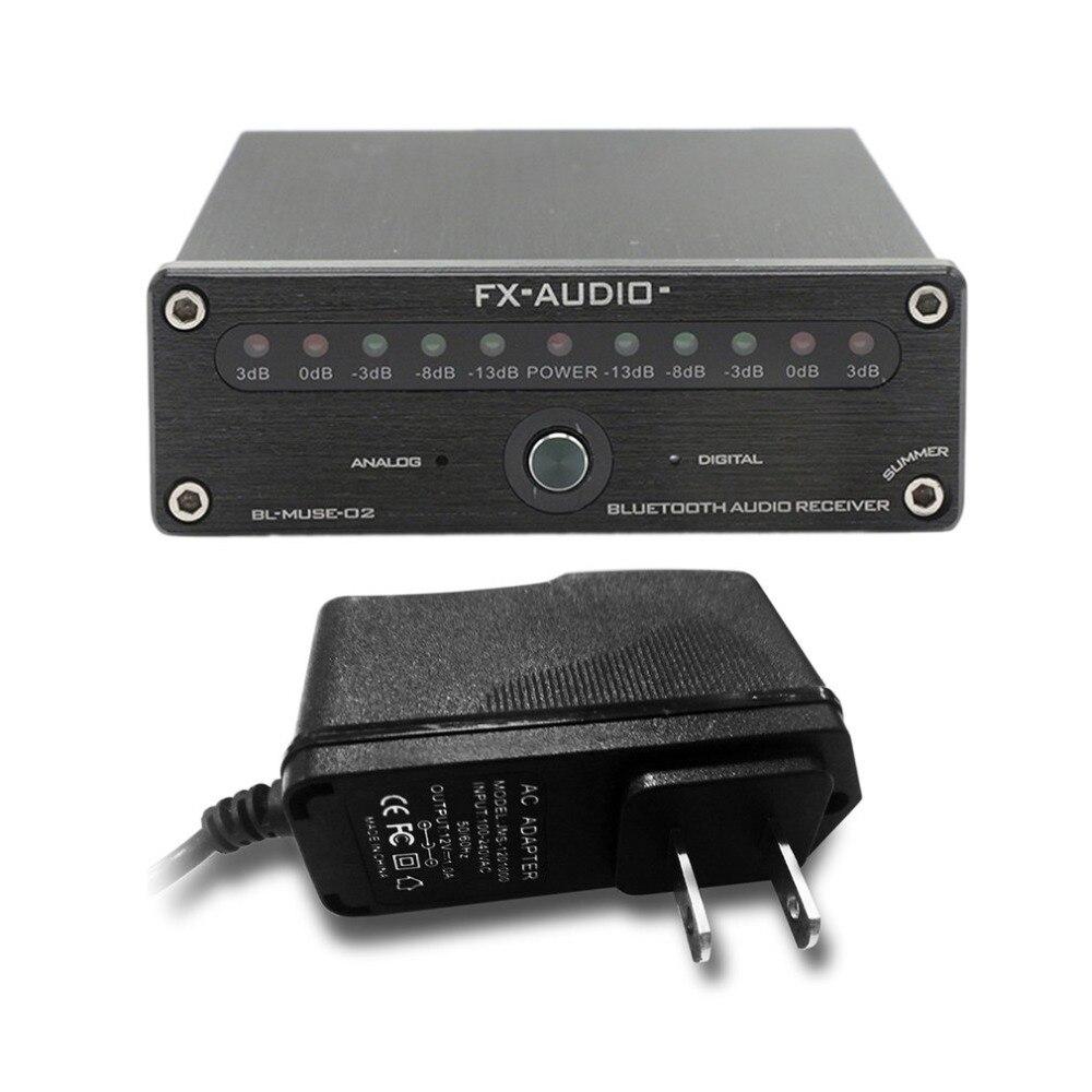 FX-AUDIO BL-MUSE-02CSR Bluetooth 4.0 HIFI récepteur Audio fibre coaxiale sans perte APTX récepteur Audio Bluetooth