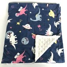 Baby Blanket Thermal Fleece Owl Floral Blanket Infant Swaddle Nap Receiving Stroller Wrap For Newborn Baby Bedding Bebe Blankets цена