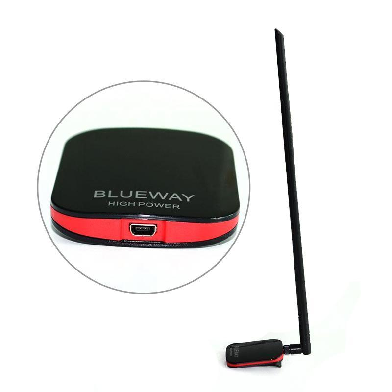 High power 2000MW 15dBi Ralink 3070 USB free wifi Antenna wifi wi fi network Lan Card