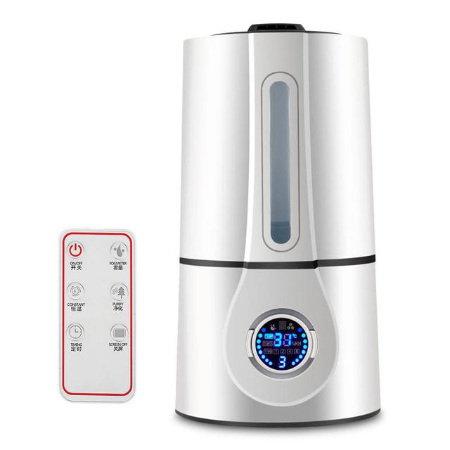 Mini Ultrasonic Mute Aroma Air Humidifier