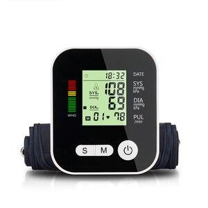 Image 2 - Цифровой тонометр для измерения артериального давления, медицинское оборудование, прибор для измерения давления, домашний ЖК монитор здоровья