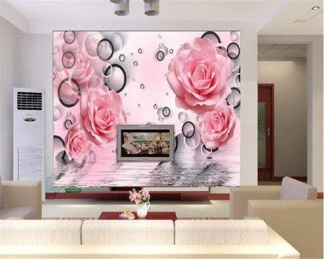 Online Shop beibehang TV Living Room Background Wall 3d Wallpaper ...