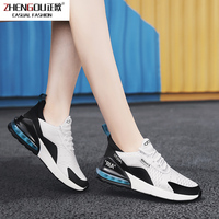 zhengou Size Plus Cushion Casual Trend Breathable Sneakers Luxury Light Air 270 Lace Up Fashion Unisex Shoes Men