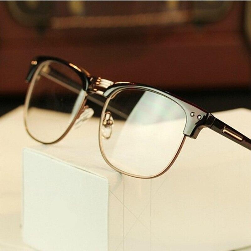 New Brand Designer Business Reading Glasses Frame Men Bright Black Writing superior quality Glasses Frame 8730