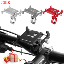 JGKK Mobile Phone Holders Stands motorcycle Bicycle phone holder GPS Holder Adjustable For 3.5-6.2 inch Smartphone