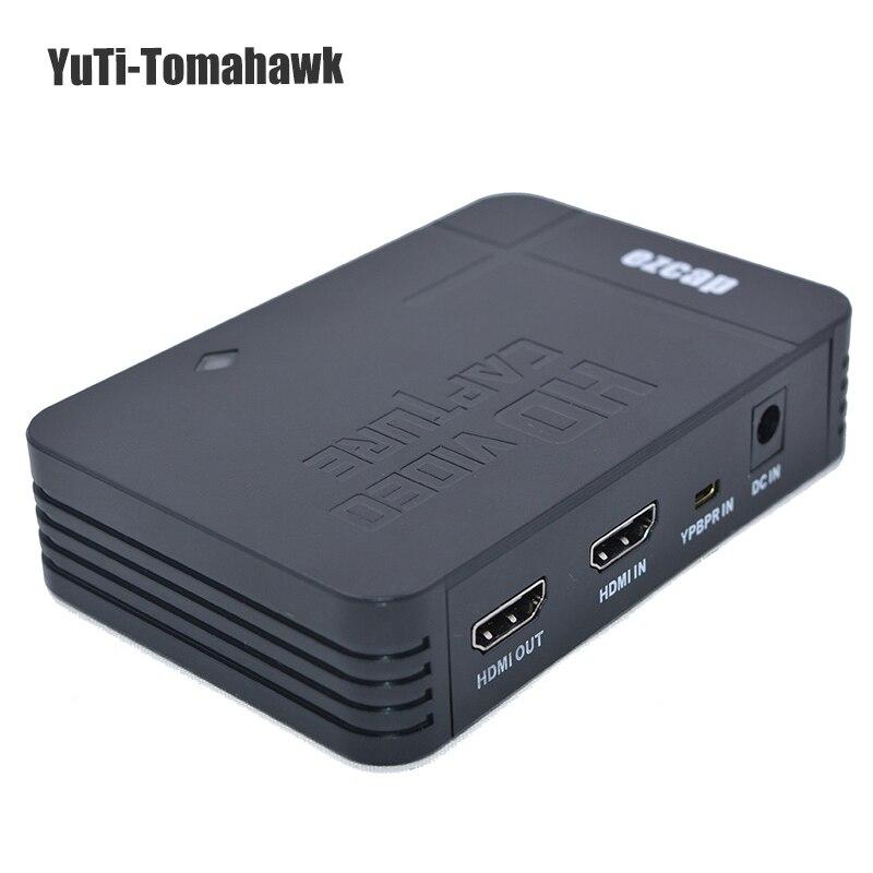 Date EZCAP HD Jeu Vidéo Capture 1080 P HDMI YPBPR Enregistreur pour XBOX One/360 Pour PS3 Compatible tous les systèmes d'exploitation