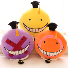 The 2015 comic assassination classroom to kill the teacher face plush toy doll birthday gift pillow cushion