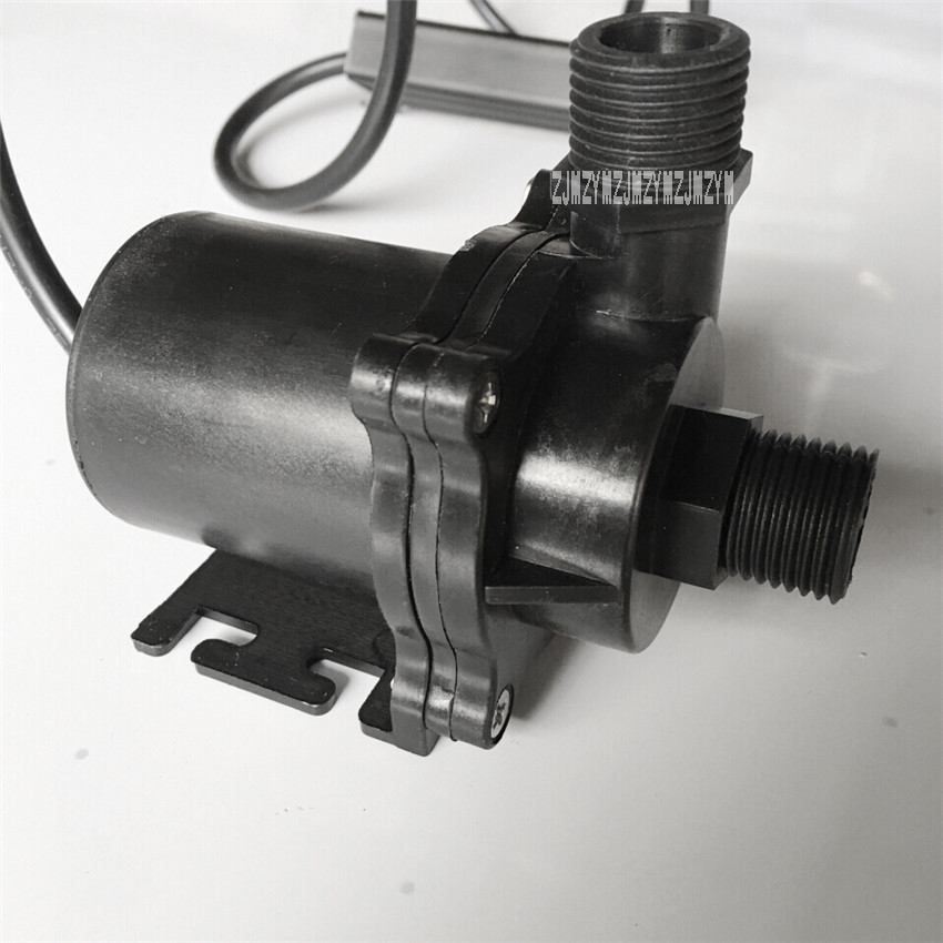 NC50B-2480 24V Small High Temperature Resistant Circulating DC Brushless Submersible Pump 100 Degrees 3.2A 8M 76.8W 2220L / H