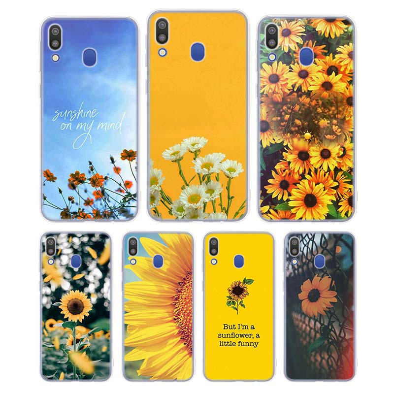 Silicone Case Sunfowers fantasy show for Samsung Galaxy Note 8 9 M30 M20 M10 S10 S9 S8 Plus Lite S6 S7 Edge Cover image