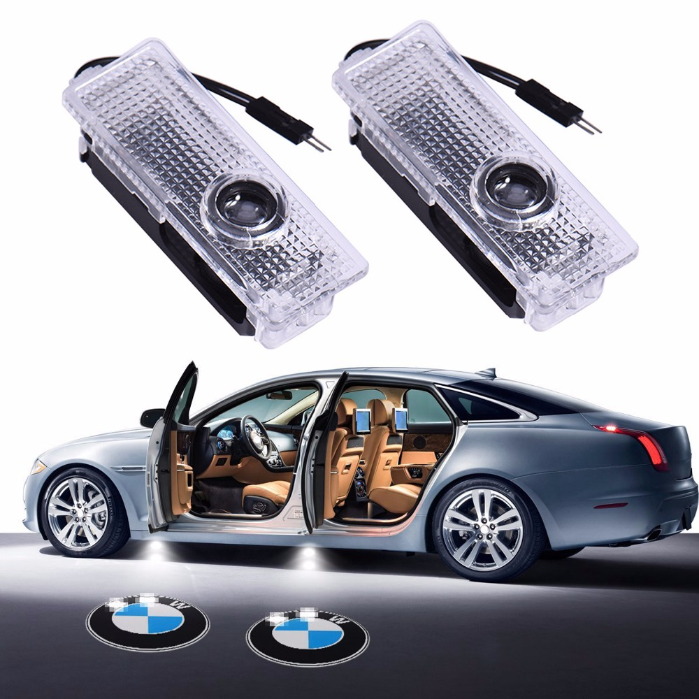 1pc Led Car Courtesy Lamp Logo Car Door Welcome Light Shadow Projector Laser For Bmw X1 X3 E83 X5 E53 X6 Gt Z8