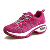 KERZER Women S Running Shoes Mesh Breathable Sport Shoes Black Red Purple Womens Athletic Shoes Lightweight
