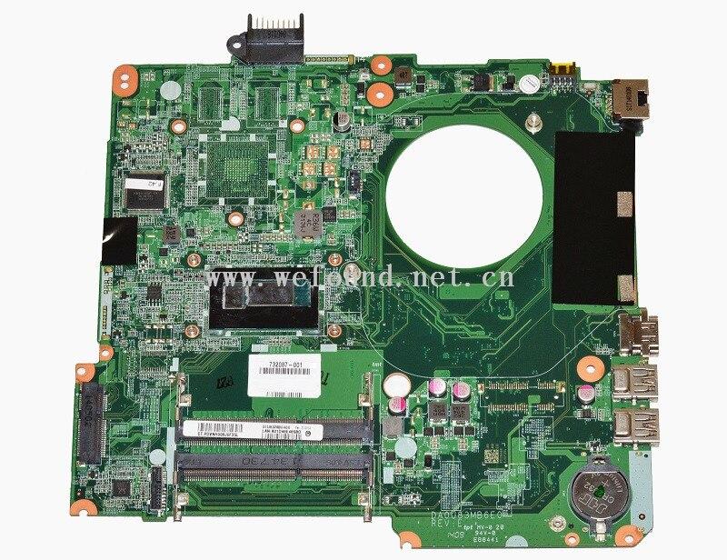 Laptop Motherboard For 732087-501 732087-601 732087-001 15-N I3-4005U DA0U83MB6E0 System Mainboard Fully Tested